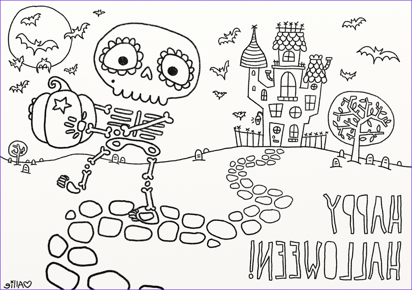 Free Printable Halloween Coloring Pages for Kids New Photos 9 Fun Free Printable Halloween Coloring Pages