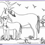 Free Printable Horse Coloring Pages Awesome Photography Mare And Foal Coloring Pages Hellokids