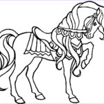 Free Printable Horse Coloring Pages Beautiful Photos Free Animals Horse Printable Coloring Pages for
