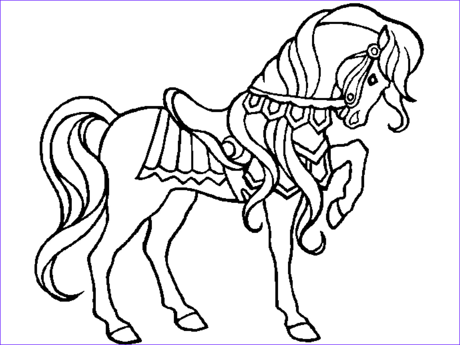 15 Awesome Free Printable Horse Coloring Pages Photography