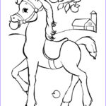 Free Printable Horse Coloring Pages Cool Stock Horse To Print And Color Pages 2 Color