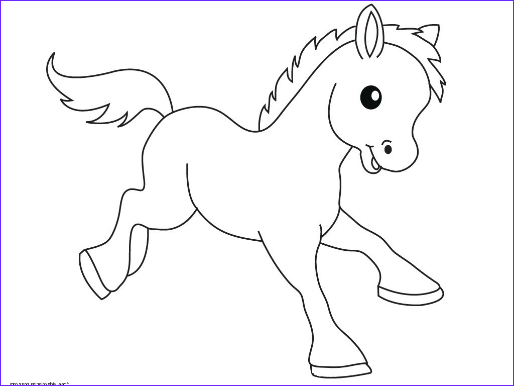 Free Printable Kids Coloring Pages Inspirational Photography Pony Baby Animals Coloring Pages for Kidsfree Printable