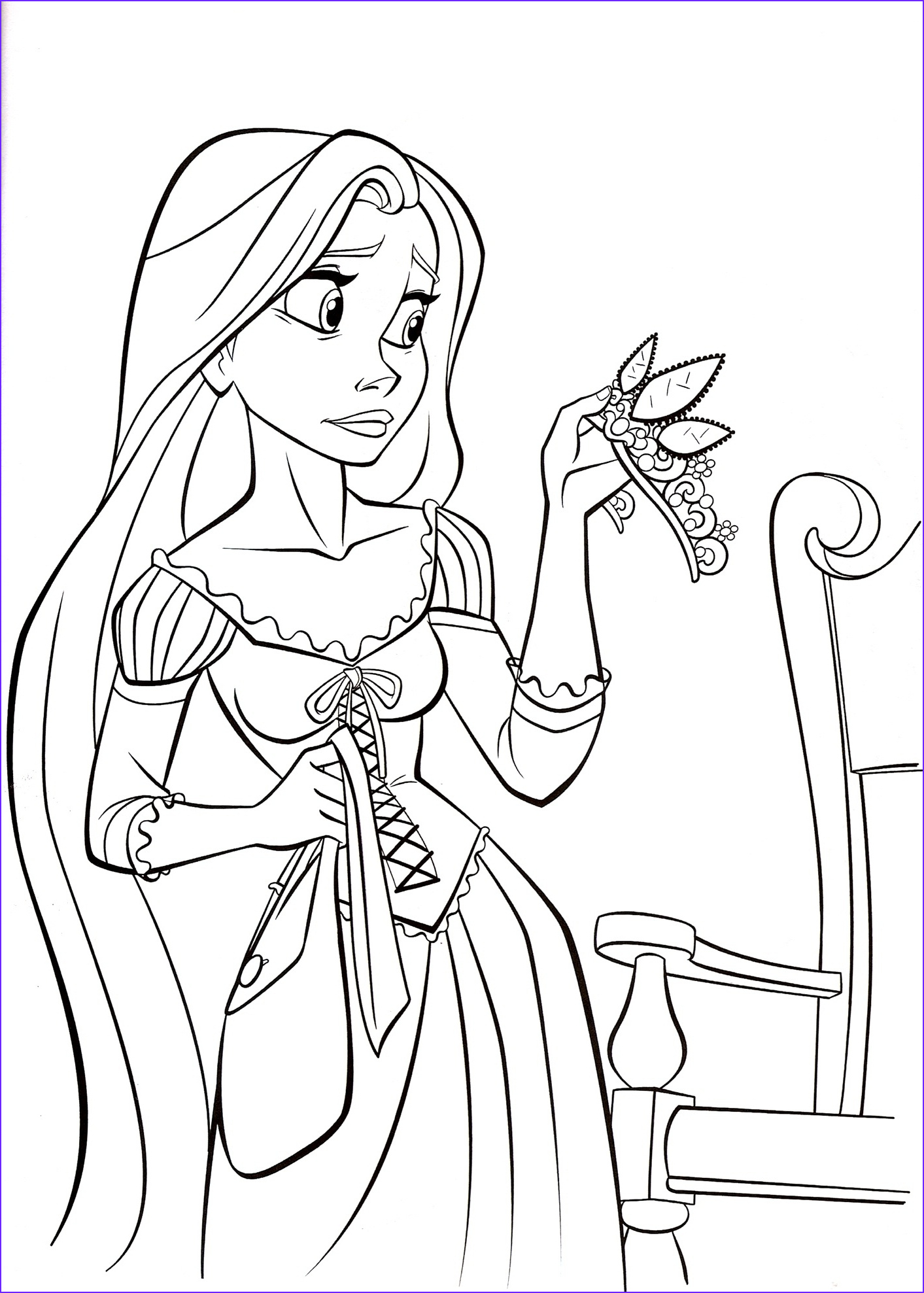 Free Printable Kids Coloring Pages Luxury Gallery Free Printable Tangled Coloring Pages for Kids
