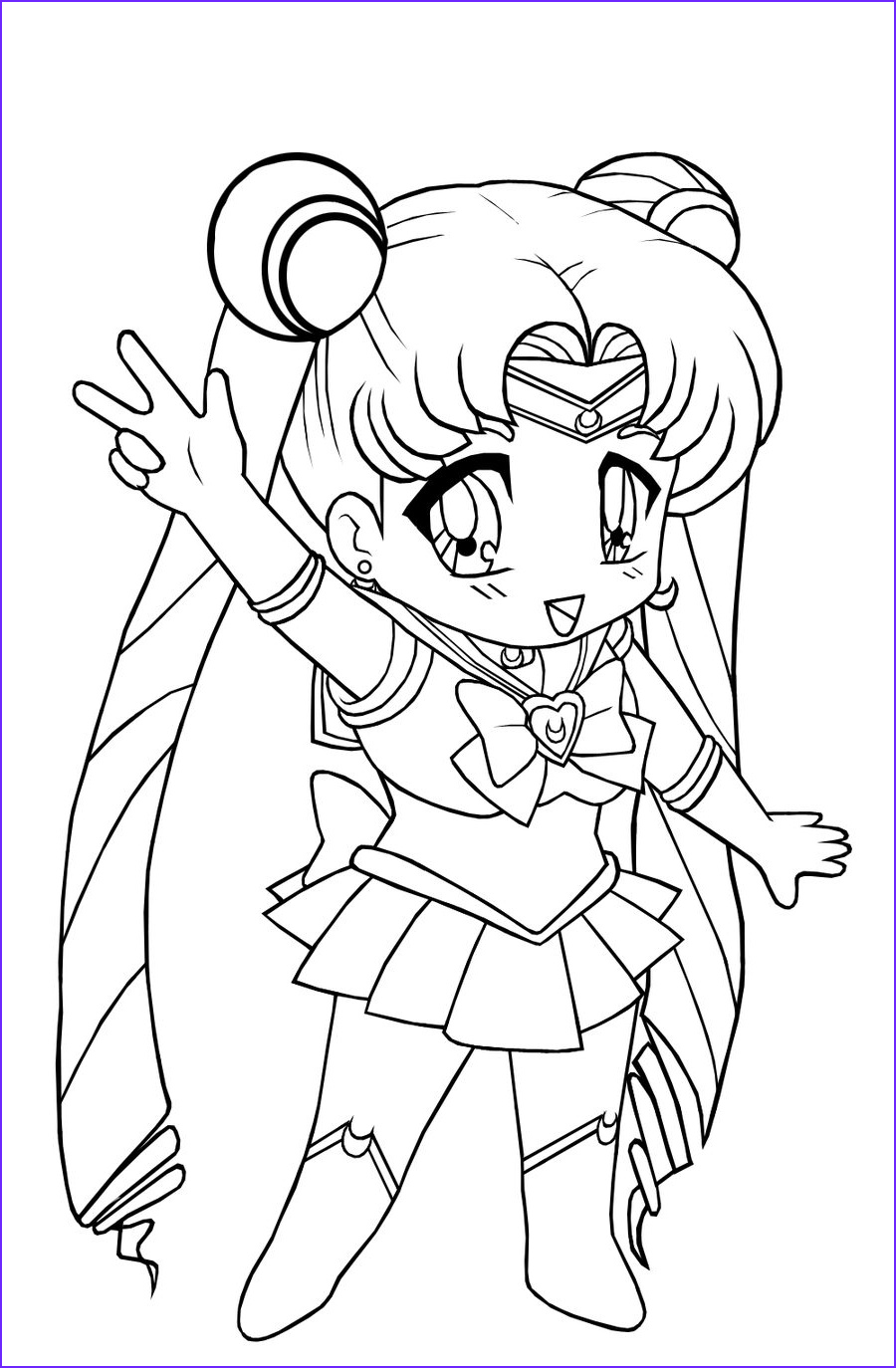 Free Printable Kids Coloring Pages Luxury Images Free Printable Chibi Coloring Pages for Kids
