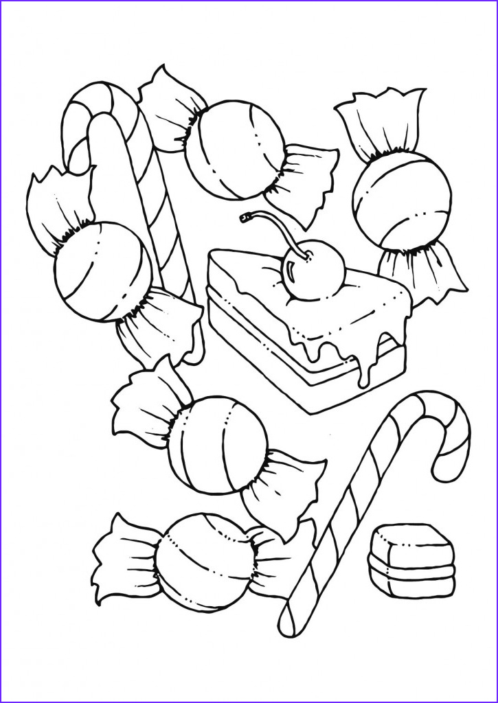 Free Printable Kids Coloring Pages New Image Free Printable Candy Coloring Pages for Kids