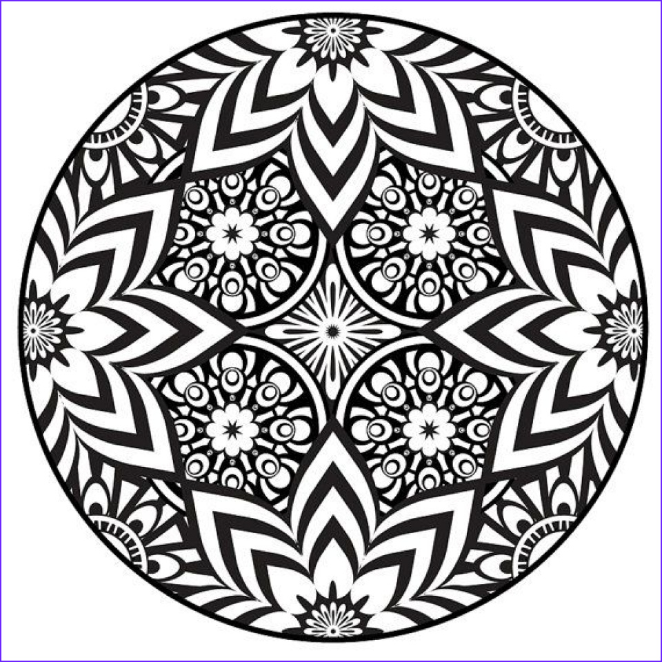 free mandala coloring pages for adults to print