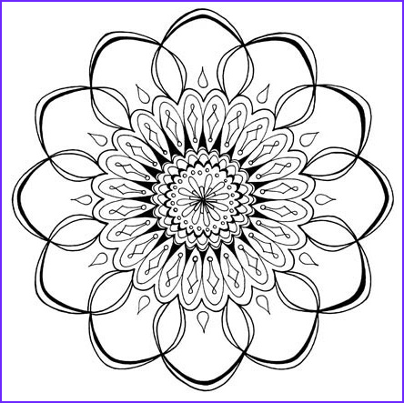 Free Printable Mandalas Coloring Pages Adults Beautiful Stock Free Adult Coloring Pages Detailed Printable Coloring