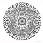 Free Printable Mandalas Coloring Pages Adults Best Of Collection Printable Mandala Coloring Pages For Kids