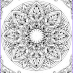 Free Printable Mandalas Coloring Pages Adults Inspirational Image Mandala Printable Adult Coloring Page From Favoreads
