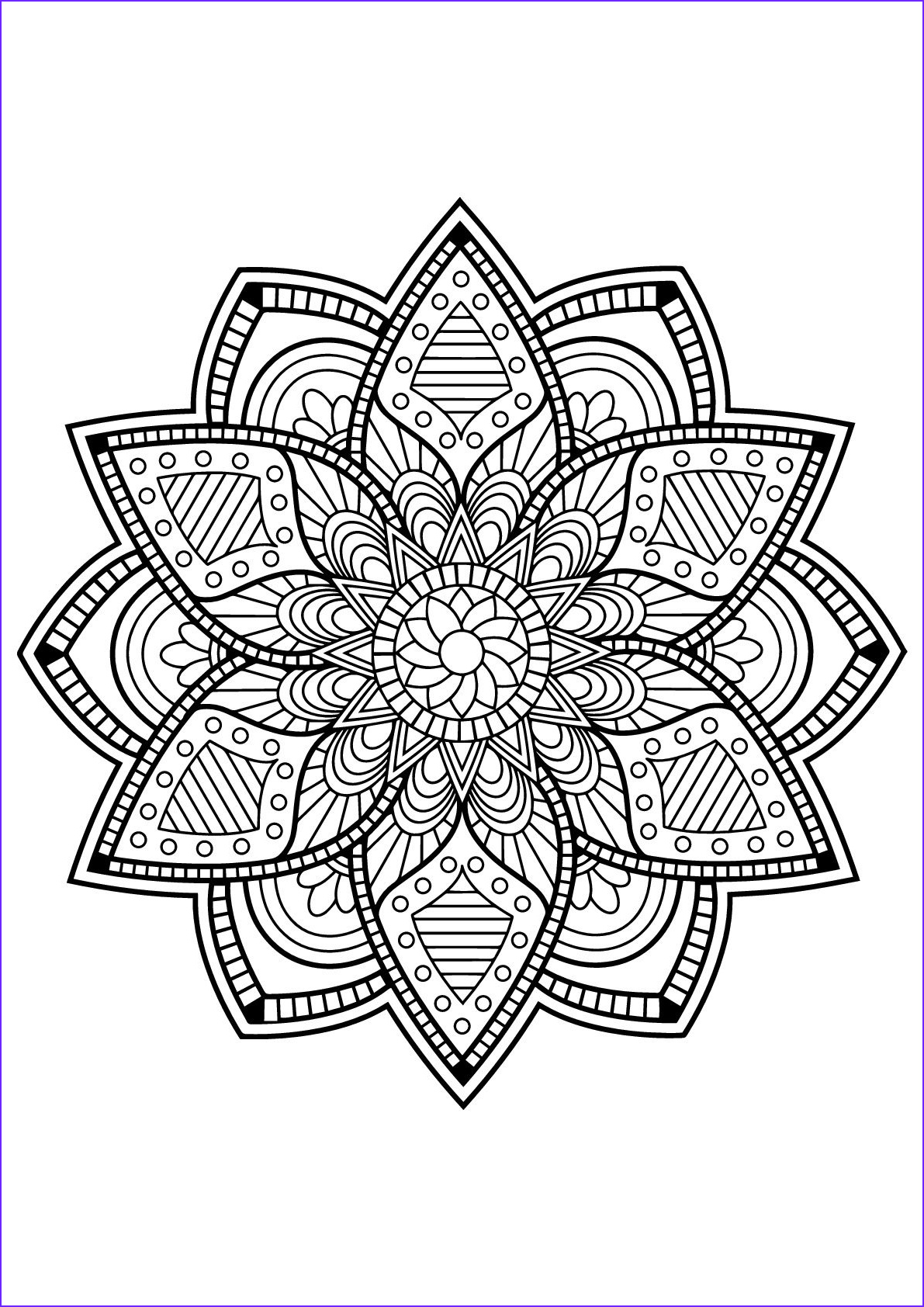 Free Printable Mandalas Coloring Pages Adults Inspirational Photos Here are Difficult Mandalas Coloring Pages for Adults to