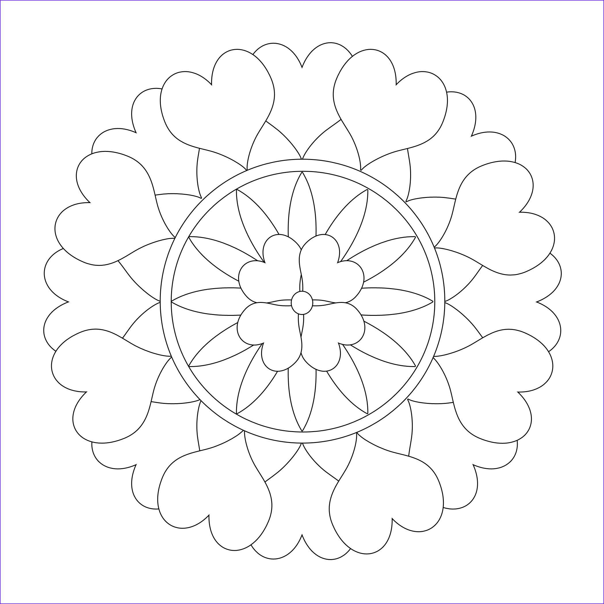 Free Printable Mandalas Coloring Pages Adults Luxury Collection Free Printable Mandala Coloring Pages for Adults Best