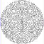 Free Printable Mandalas Coloring Pages Adults Unique Photos Free Mandala Coloring Pages For Adults Coloring Home