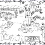 Free Printable Pumpkin Coloring Pages Luxury Images Pumpkin Patch Coloring Page Printable The Graphics Fairy