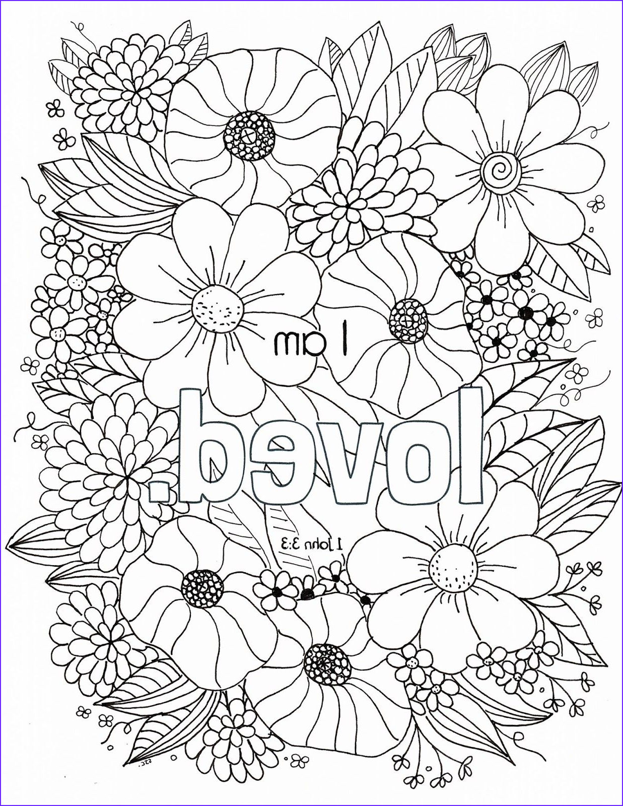 """Free Printable Scripture Coloring Pages for Adults Cool Collection Wel E to the """"who I Am In Christ"""" Coloring Page Series"""