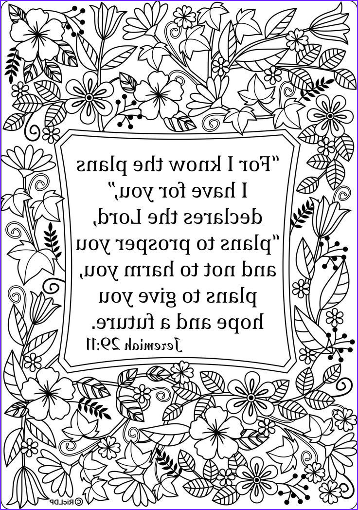 Free Printable Scripture Coloring Pages for Adults Inspirational Photos Pin On I Love Coloring