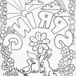 Free Printable Spring Coloring Pages Beautiful Image Coloring Pages For Kids By Mr Adron Spring Free