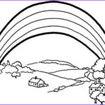 Free Rainbow Coloring Pages Beautiful Gallery Free Printable Rainbow Coloring Pages For Kids