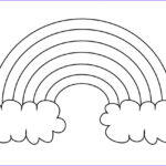 Free Rainbow Coloring Pages Best Of Gallery Free Printable Rainbow Templates Small Medium &