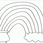Free Rainbow Coloring Pages Luxury Image Pom Pom Rainbow Craft For St Patrick S Day Free