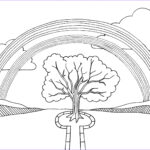 Free Rainbow Coloring Pages Unique Photography Free Printable Rainbow Coloring Pages For Kids