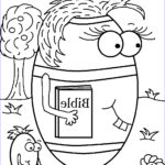 Free Sunday School Coloring Pages Cool Collection Church House Collection Blog Free Easter Egg Carrying Her