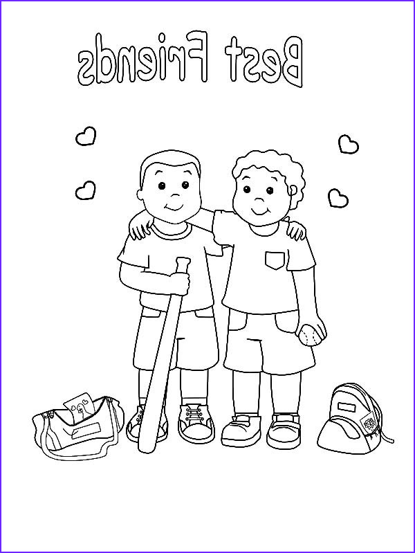 Friends Coloring Pages Inspirational Stock Friendship Coloring Pages Best Coloring Pages for Kids