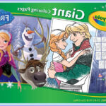 Frozen Coloring Books Beautiful Stock Amazon Crayola Frozen Giant Coloring Pages Toys & Games