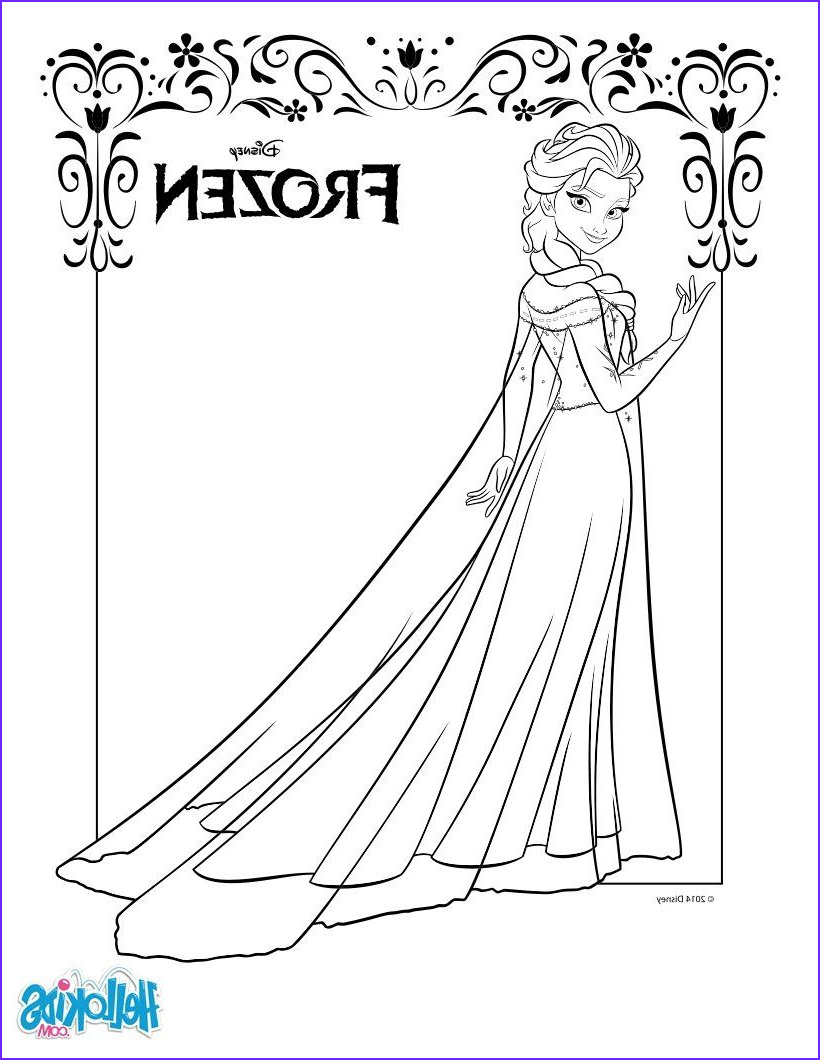 Frozen Coloring Books Best Of Photography Frozen Coloring Pages Elsa Coloring Pinterest