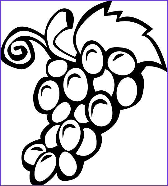 fruit coloring pages 2