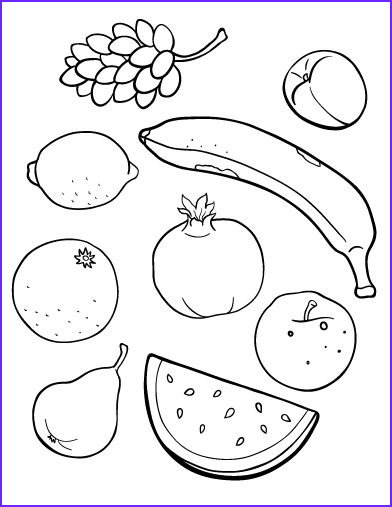 Fruit Coloring Cool Photos Pin by Muse Printables On Coloring Pages at Coloringcafe