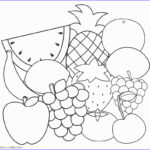 Fruit Coloring Elegant Stock Free Printable Fruit Coloring Pages For Kids