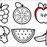 Fruit Coloring Unique Gallery Fruits And Ve Ables Coloring Pages