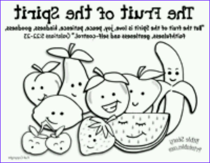 Fruit Of the Spirit Coloring Page Best Of Collection Fruit Of the Spirit Coloring Page