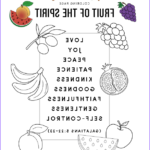 Fruit Of The Spirit Coloring Page Inspirational Photography Fruit Of The Spirit – Bible Pathway Adventures