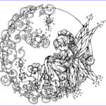 Full Size Coloring Pages Awesome Collection This Is A Beautiful And Intricate Coloring Page For Older