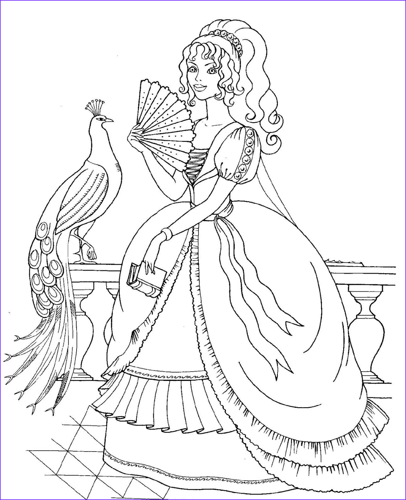disney princess full size coloring pages