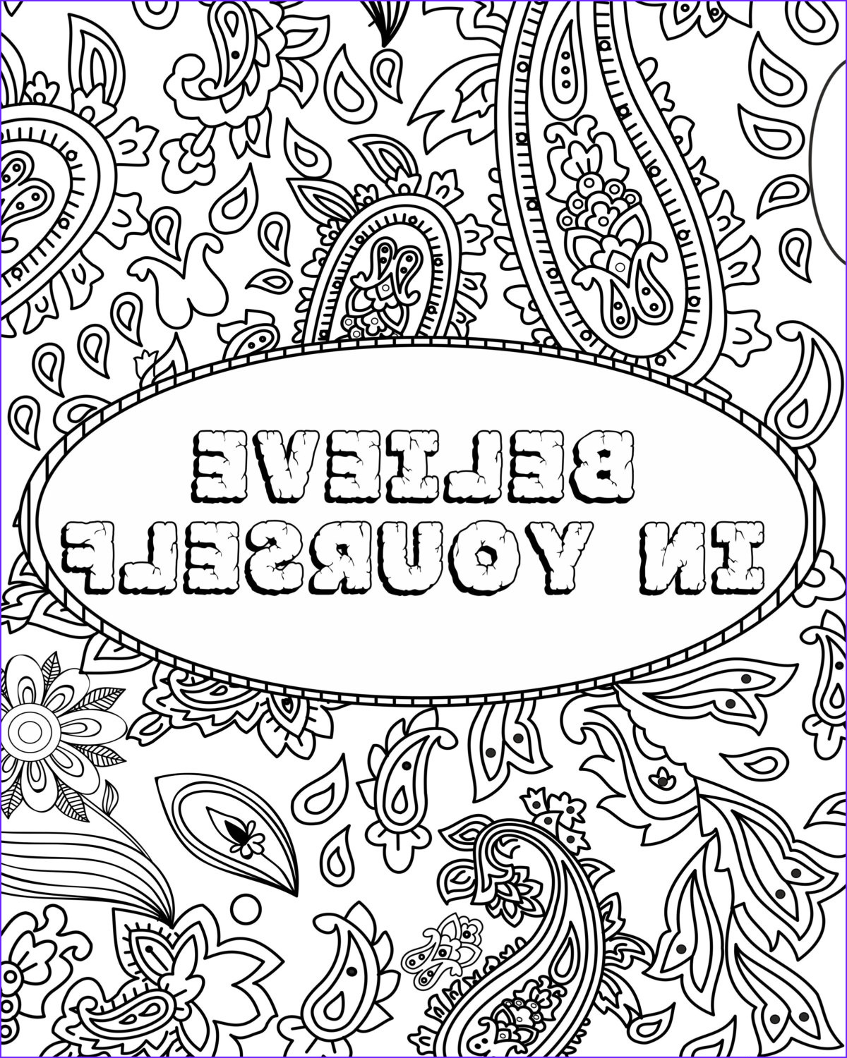 funny quote coloring pages