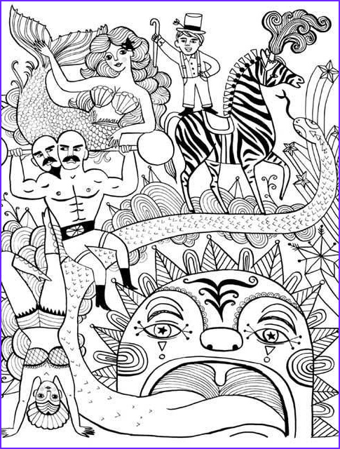 cool coloring books for adults