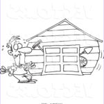 Garage Coloring Awesome Stock Garage Coloring Pages