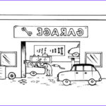 Garage Coloring Best Of Photos Coloring Page Garage Img 8156