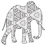 Geometric Coloring Books Awesome Photography 30 Free Coloring Pages A Geometric Animal Coloring