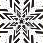 Geometric Coloring Pages For Adults New Photos Big Bang Adult Coloring Page