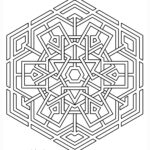 Geometric Coloring Pages For Adults Unique Collection Coloring Page Celtic Snowflake From Geometrycoloringpages