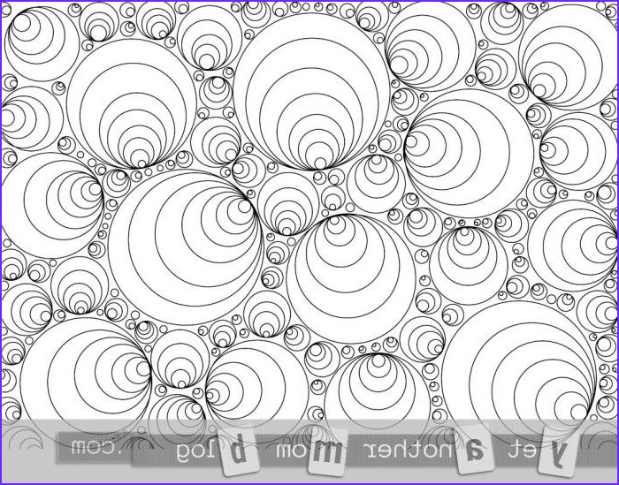Geometric Coloring Pages Pdf Cool Images Coloring Pages for Adults Circles Free Coloring Pages