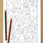 Geometric Coloring Pages Pdf Luxury Collection Geometric Kites Adult Coloring Page Downloadable Pdf