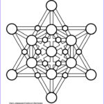Geometry Coloring Book Cool Collection Sacred Geometry Coloring Page Merkaba From