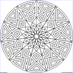 Geometry Coloring Book Unique Photography Geometric Mandala Coloring Pages Coloring Home