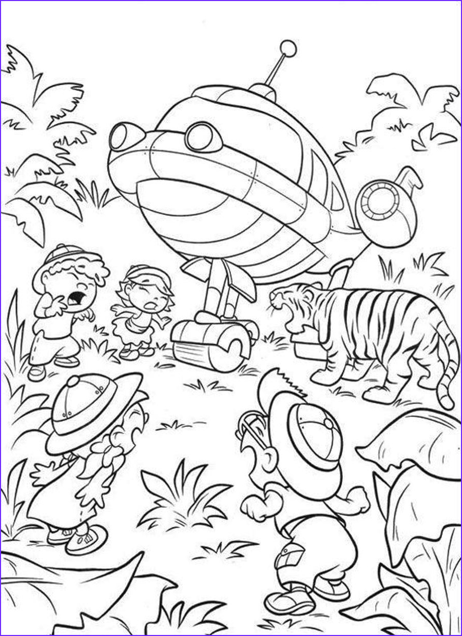 Get Coloring Pages New Gallery Free Printable Little Einsteins Coloring Pages Get Ready