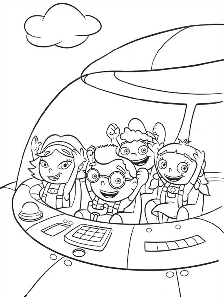 Get Coloring Pages New Photography Free Printable Little Einsteins Coloring Pages Get Ready