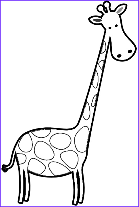 Giraffe Coloring Pictures Best Of Photos Free Coloring Book Of Giraffes